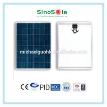 220W Solar PV Panel TUV/IEC/CE/CEC/CQC/PID/ISO Standards