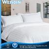 Wholesale white cotton hotel bed linen 4 pcs