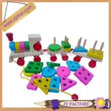 lovely mini friction cartoon wooden toy car
