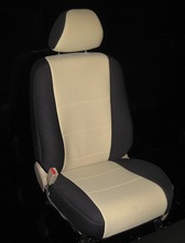 car seat cover black and tan
