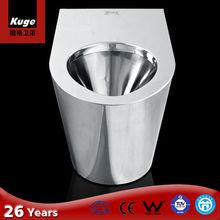 CE Stainless steel european wc toilet hidden cam toilet