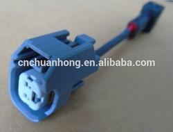 sensor universal female ev14/ev6 to male MFP fuel injectors connector adapter 10cm wire