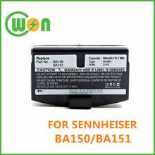 Ba150 pil Sennheiser kablosuz kulaklık pil seti- 20 seti- 820S seti- 810 seti- 810s seti- 250