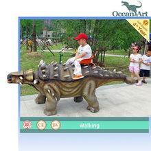 CE approved mechanical dinosaur amusement kiddie rides