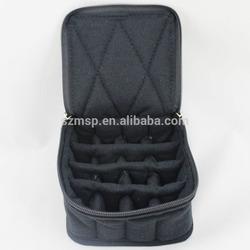 Shock resistance velvet essential oil bottle storage bag for 12, 16, 32 vials