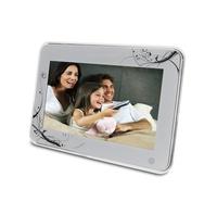 digital photo frame with video loop 10.1 inch digital photo frame with muti function with mirror surface frame