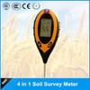 4 in 1 Multifunctional Soil moisture meter,best soil ph meter with moisture/pH/Temperature/sunlight display for garden/farmland