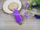 Purple cute Plastic 2gb 4gb 8gb usb flash drive pen usb drive usb stick