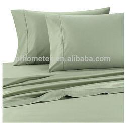 1500T 100% Cotton Sateen Sage Color Sheet Set