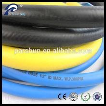 "1/2"" fiber braid rubber hose for heat resistant pipe insulation"