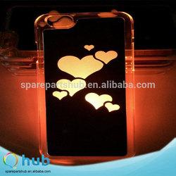 Sense flash light led hard case for apple iphone 6