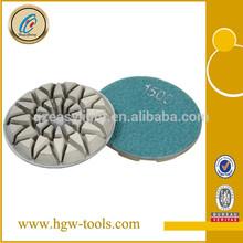 Diamond Resin polishing tools for abrasive polishers