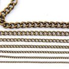 Fashion Jewelry fingings,Iron 5.5mm Metal Chain,Bronze Plated iron Chain