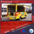 Lhd RHD DONGFENG fast food van preço barato light duty comida móvel van