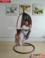 Tf-9715 cómodo patio jardín oscilación de la rota silla / de mimbre silla de la hamaca
