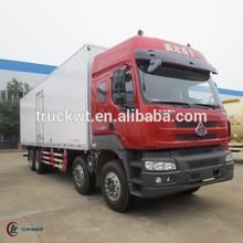 292hp 8*4 DONGFENG Chenglong Frozen Goods Truck 35ton