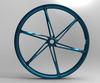 2014 newest magnesium fashion electric mountain bike wheel