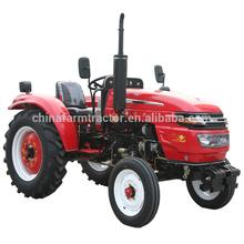 2WD por rueda Tractor y el Tractor de granja uso de la mano héroe arado