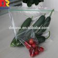pebd transparente de frutas e vegetais sacos ziplock