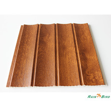RB-PVC-L2549 New size 2014 Iraq Laminated Three groove 3D pvc wall panel