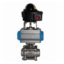 pneumatic valve for oil and gas, waste water treatment industry
