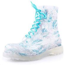 Good Quality Hot Sell PVC Camo Rain Boots, Gril Decorative Rain Boots