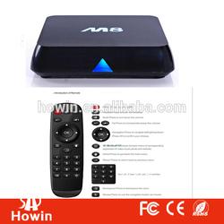 Full HD 2GB RAM+8GB ROM support wifi XBMC Amlogic S802 3G Mali-450 Android 4.4 quad core M8 tv box