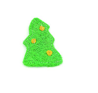 2014 new pet products Christmas trees loofah toys