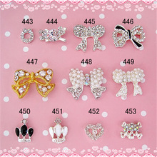 Beauty Salon Nail Accessories Needs All Kinds Of Nails Decorative Bows For Sale