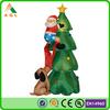 giant lighted inflatable christmas santa clause inflatable christmas tree decoration