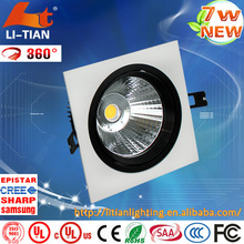 New design Super Heatsink dimmable high efficient ce approved cheap price 7w ip65 led ceiling light