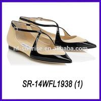 italian women shoe factory latest design lady flat shoes flat fashion lady shoes