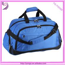 Oxford duffel bag sports with adjustable belt sport bag duffel