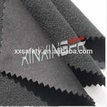 C100% 300gsm anti-acid & alkali and flame retardant fleece knitting