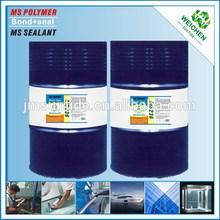 One-component multi-purpose sagging resistance of elastic sealant cyanoacrylate adhesive