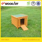 Box shape cheap wooden rabbit cages