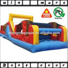 sports inflatable fun city for kids, racing fun city rental