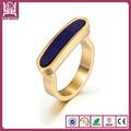 china de fábrica barata y de moda de aceroinoxidable anillos de boda de banda de aceroinoxidable anillos