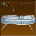 2014 nuovo prodotto di lusso elettrico portatile lettino da massaggio riscaldato