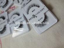 100% human hair eyelash extension red cherry lashes