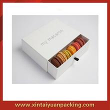 2014 Alibaba China Factory Custom Handmade Macarons Box/Macaron Packaging/Macaron Box Wholesale