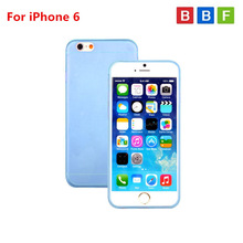 Ultra Thin Clear Crystal Rubber TPU Silicone Soft Case For iPhone 6
