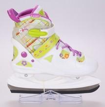 venta al por mayor baratos nueva llegada ajustable hardboot hockey hielo skate niños calzado deportivo