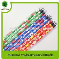 PVC wood stick handles and mop stick