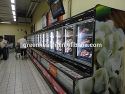 Freezer/refrigerator combined used supermarket refrigeration equipment