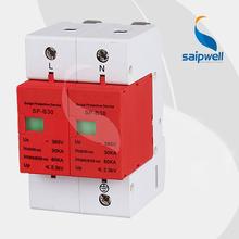 (SP-B30 2P) SAIP/SAIPWELL Lightning Arrester 11KV Electric Surge Protector