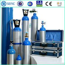 alta pressione e alta qualità medico portatile ossigeno piccolo cilindro