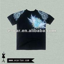 Boys black organic cotton tshirt