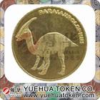 Custom cheap fashion metal replica 3D coins fake gold coin