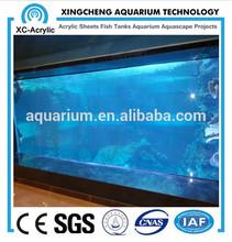 Acrylic used marine fish tank